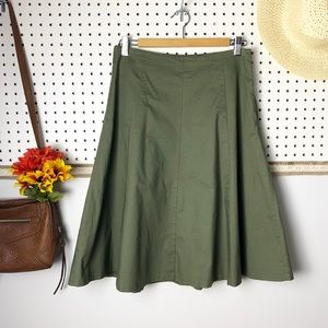 The limited Army Green Skirt